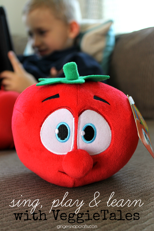 Sing, Play & Learn with VeggieTales #veggietalefun #weavemade #ad