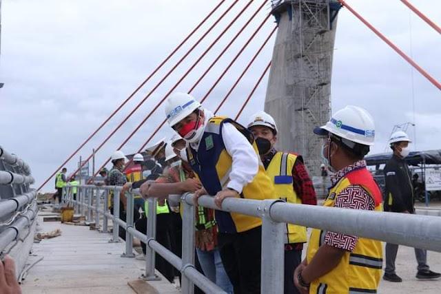 Hore..!, Tidak Lama Lagi Jembatan Alalak segera Difungsikan
