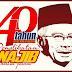Buku Khas 'Najib Razak 40 Years 40 Pictures'.