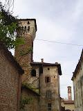 2004 - torre da via del castello e vista campanile parrocchia