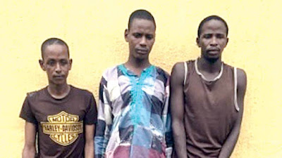 Police Parade Suspected Individuals Related To Killing of Dangote's strategist