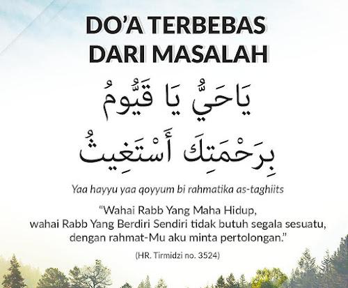doa terbebas dari masalah