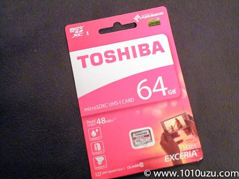 東芝microSDXC UHS-I 64GB