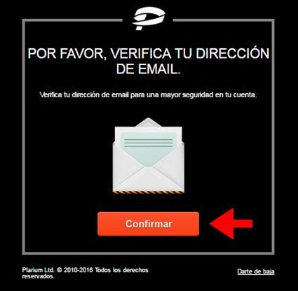 Abrir mi cuenta Plarium - 618