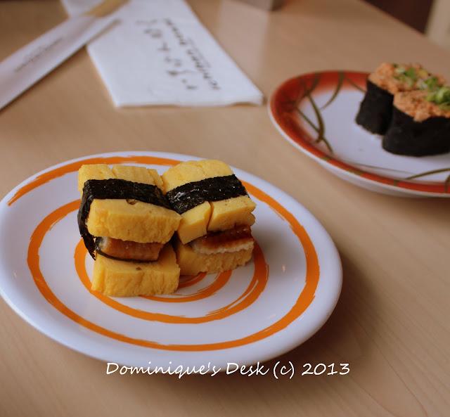 Tamago and Unagi Sushi