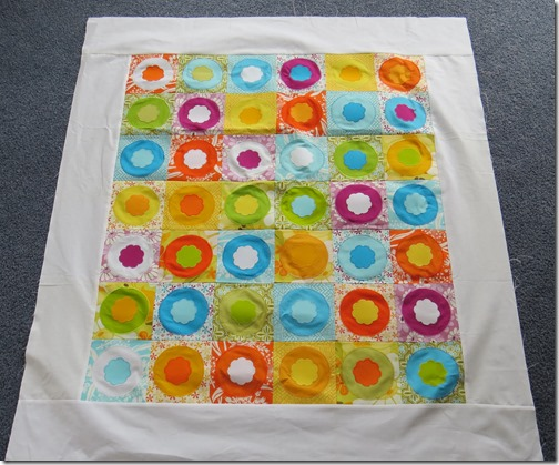 Rochelles second circle quilt