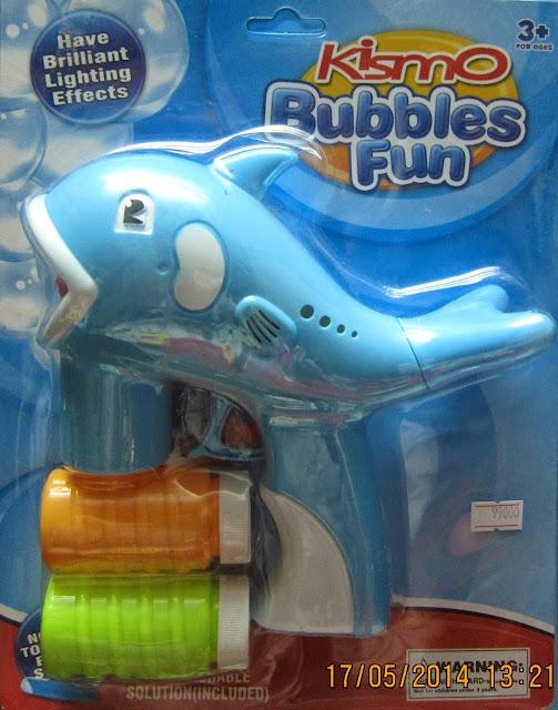 Hình ảnh minh họa cho sản phẩm Súng tạo bong bóng hình Cá Heo ngộ nghĩnh