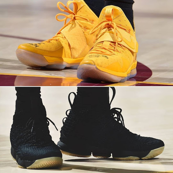 LBJ Debuts Statement LeBron 15s But Wears Some 14s Too