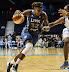 Rebekkah Brunson #32 drives (WNBA:  Chicago Sky 83 vs. Minnesota Lynx 70, Allstate Arena, Rosemont, Illinois, September 11, 2012)