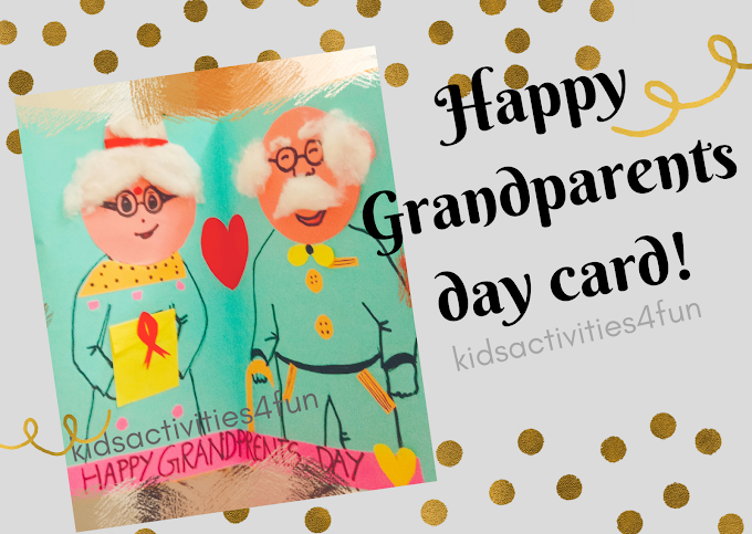 2021Handmade beautiful simple Grandparents day card craft & 21 Best useful gifts lists for your grandparents