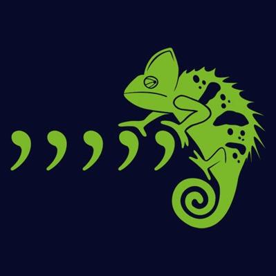 comma-chameleon