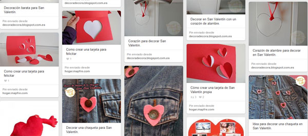 Ideas San Valentín