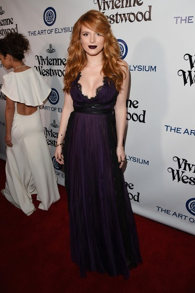Bella Thorne attends The Art of Elysium 2016 HEAVEN Gala