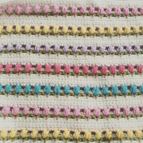 Crochet Pattern For Tulip Afghan : The Tulip Blanket ? Pattern ? Benny Rens