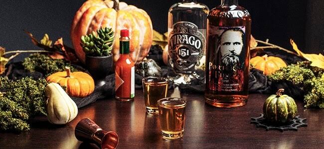 A Halloween Shot From Ogden's Own Distillery