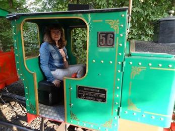 2018.08.25-084 Stéphanie dans le petit train