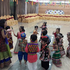 Navratri Celebration by Nursery Evening Section at Witty World, Chikoowadi (2018-19)