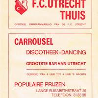 FCU Programmaboekjes 1972-73