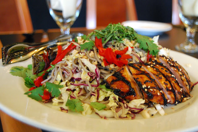 Thai soba salad served at Big Fat Fish Co. / Credit: Bellingham Whatcom County Tourism