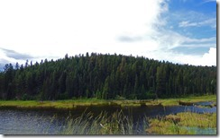 McLeese Lake, along Cariboo Highway, BC