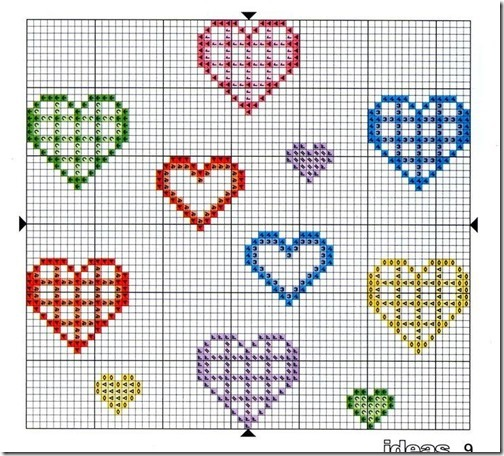 corazones punto de cruz (6)