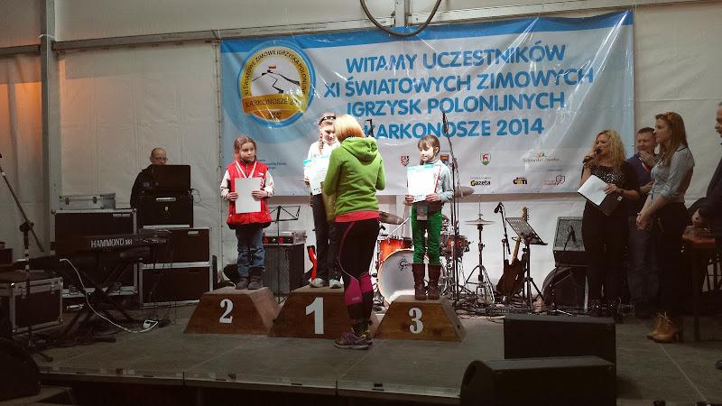 Dekoracje medalistów XI ZIP w Karkonoszach
