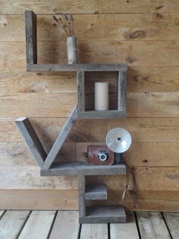Love y madera: estanterías especiales | LA CÓMODA ENCANTADA