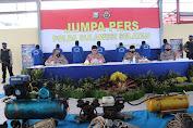 Terungkap Fakta Illegal Fishing, Ratusan Bom Ikan dan Tetonator Disita Polair Polda Sulsel