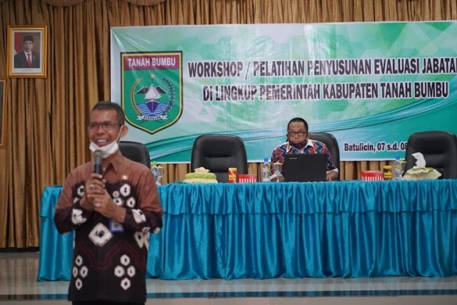 Pemkab Tanah Bumbu Gelar Pelatihan Penyusunan Evaluasi Jabatan ASN