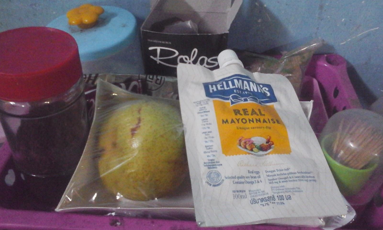 Buah Pir dan Mayonaise, Paduan yang Nikmat