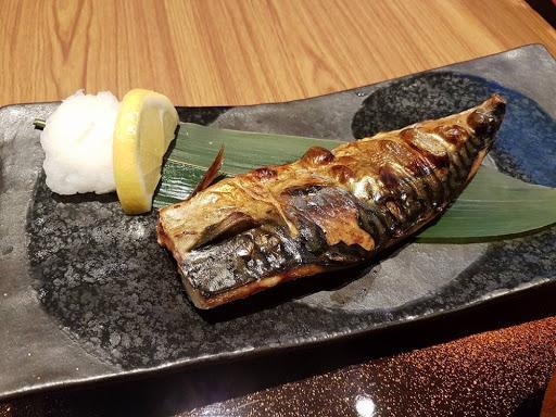 Fried saba teishoku from Yayoi at Millenia Walk