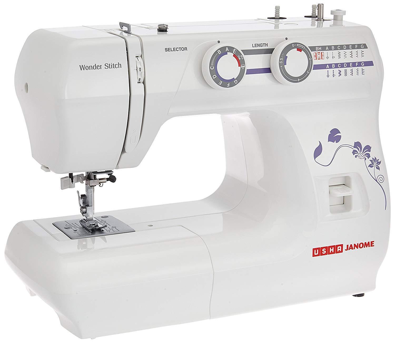 Usha Janome Wonder Stitch Electric Automatic Zig-Zag Sewing
