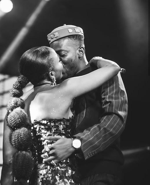 Simi Celebrate her man, Adekunle Gold