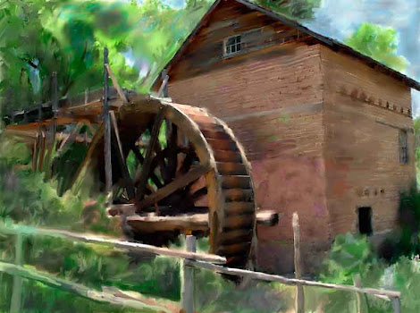 """The """"Old Mill"""" piece from the """"2003"""" collection"""
