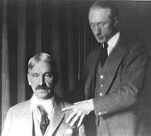 Frederick Matthias Alexander Giving Lesson To John Dewey, Frederick Matthias Alexander