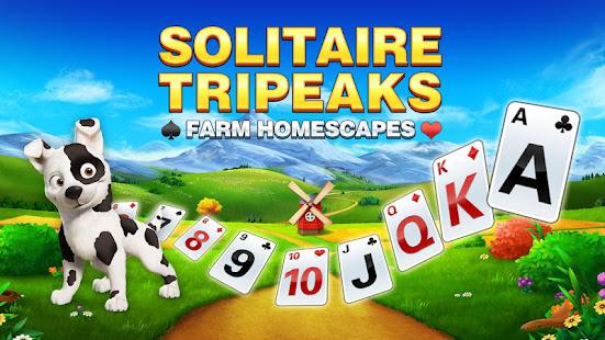 Solitaire Tripeaks - Farm Homescapes