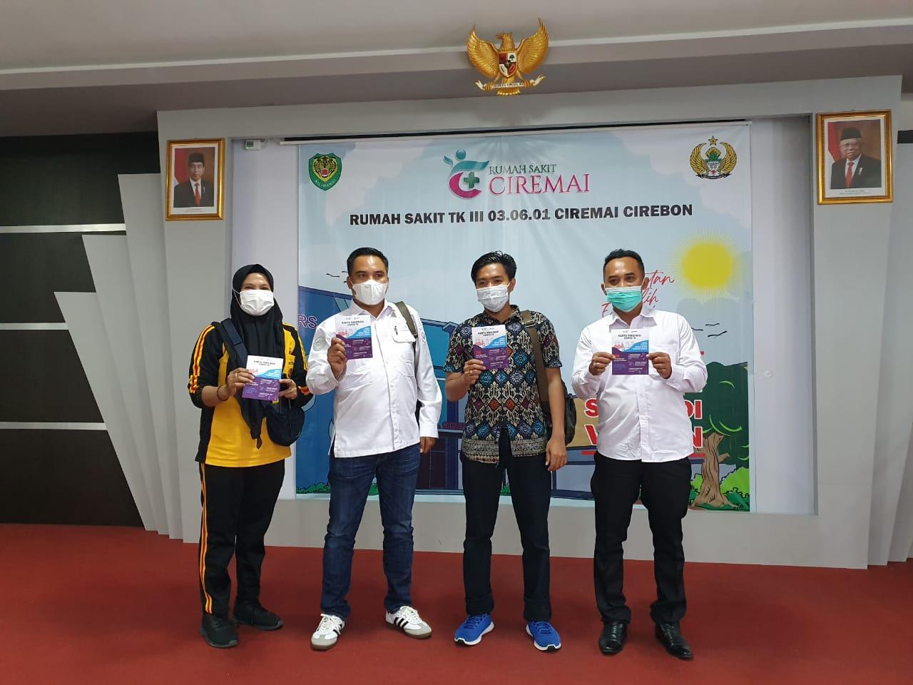 200 Personil Polres Ciko Jalani Suntik Vaksinasi Covid-19 Tahap Pertama