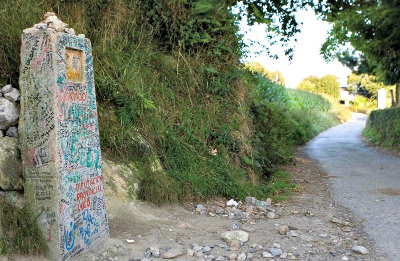 La Xunta de Galicia cambia la señalización del Camino Francés