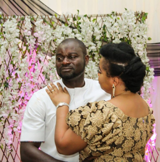 Wife moves her husband to tears with a surprise 50th birthday party for him in Lagos