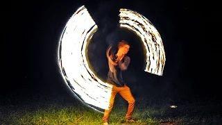 2. Tűzzsonglőr - Bárdudvarnok Falunap 2015