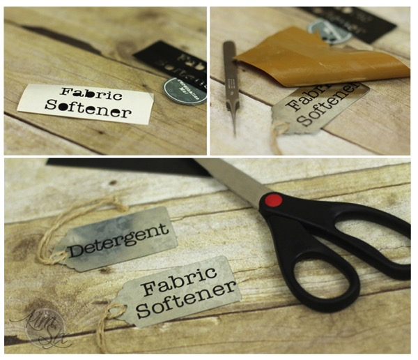 Making custom tags with vinyl
