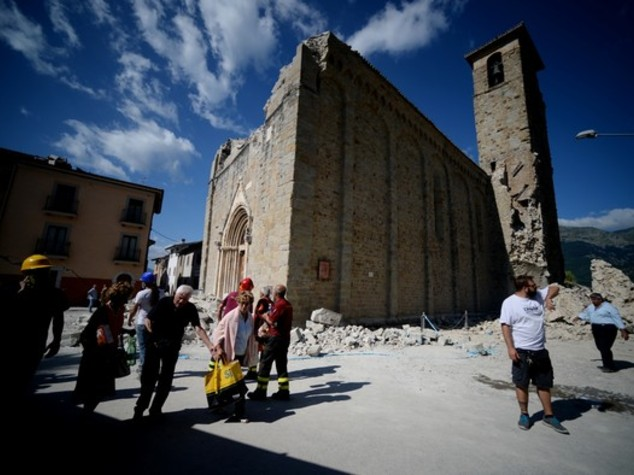 Italy: Italy earthquake damages 293 cultural heritage assets