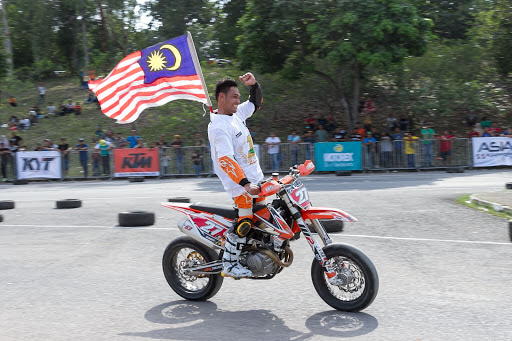GABIT TO BE ABSENT FROM ASIA SUPERMOTO CHAMPIONSHIP ROUND 3