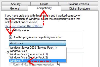 Mengatur kompatibilitas virtualbox