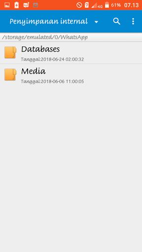 cara memindahkan penyimpanan whatsapp ke sd card