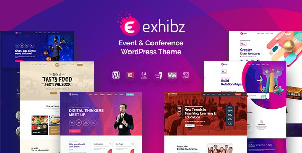 Exhibz v2.1.6 – Event Conference WordPress Theme