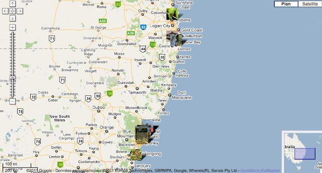 Localisation des photos