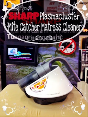 Sharp plasmacluster mite catcher