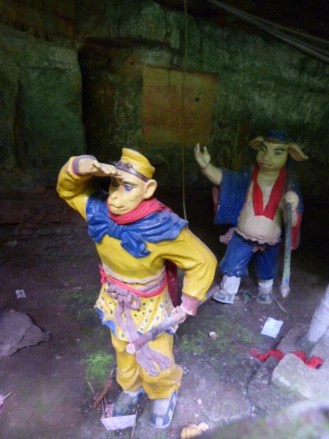 CHINE.SICHUAN.PING LE à 2 heures de Chengdu. Ravissant .Vallée des bambous - P1070634.JPG