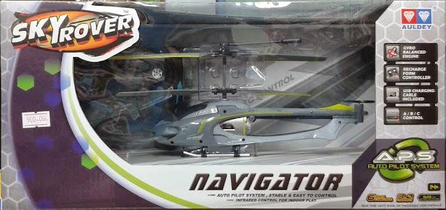 Máy bay Trực thăng điều khiển từ xa Navigator Skyrover YW858161 dành cho trẻ em trên 14 tuổi